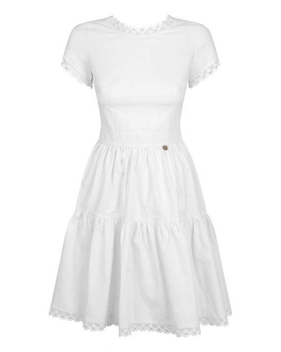 Sukienka Dicentra White